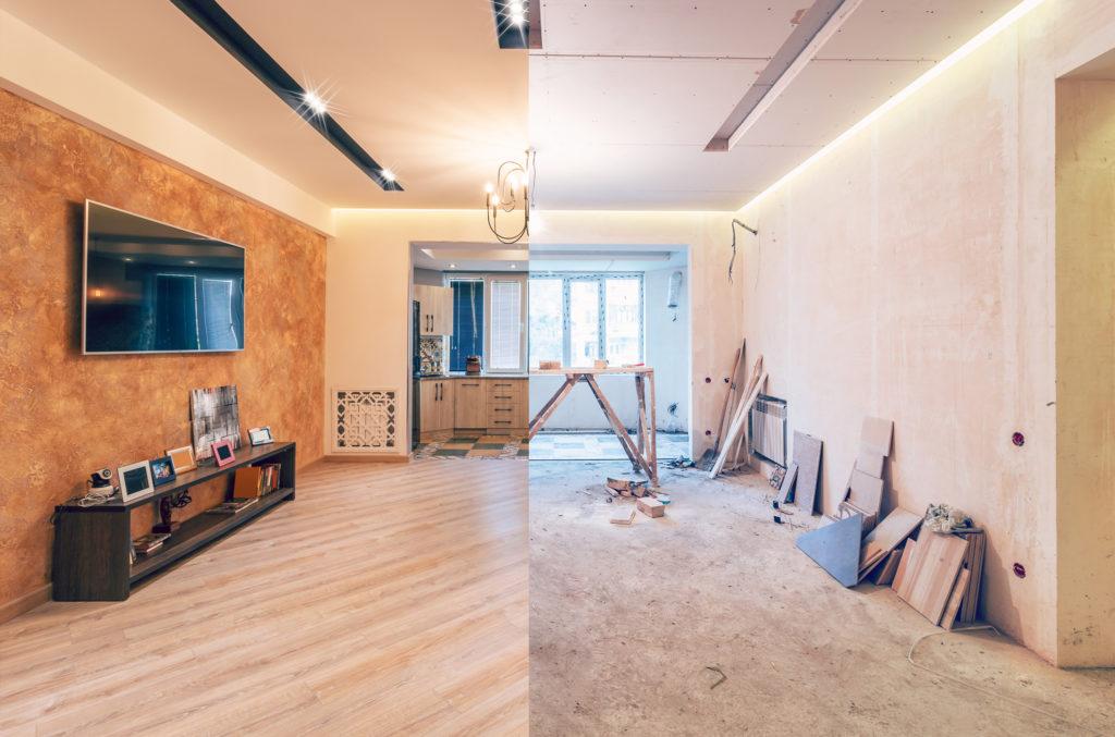 Basement and home renovation